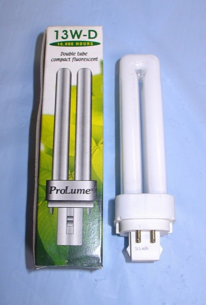 ProLume Dbl Tube Compact Fluorescent 13W D Light Bulb