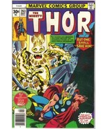 The Mighty Thor Comic Book #263 Marvel Comics 1977 FINE+ - $4.75