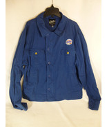 Miller Lite Jacket Button and Zipper Light size Adult XL Extra Large CSE - $29.69