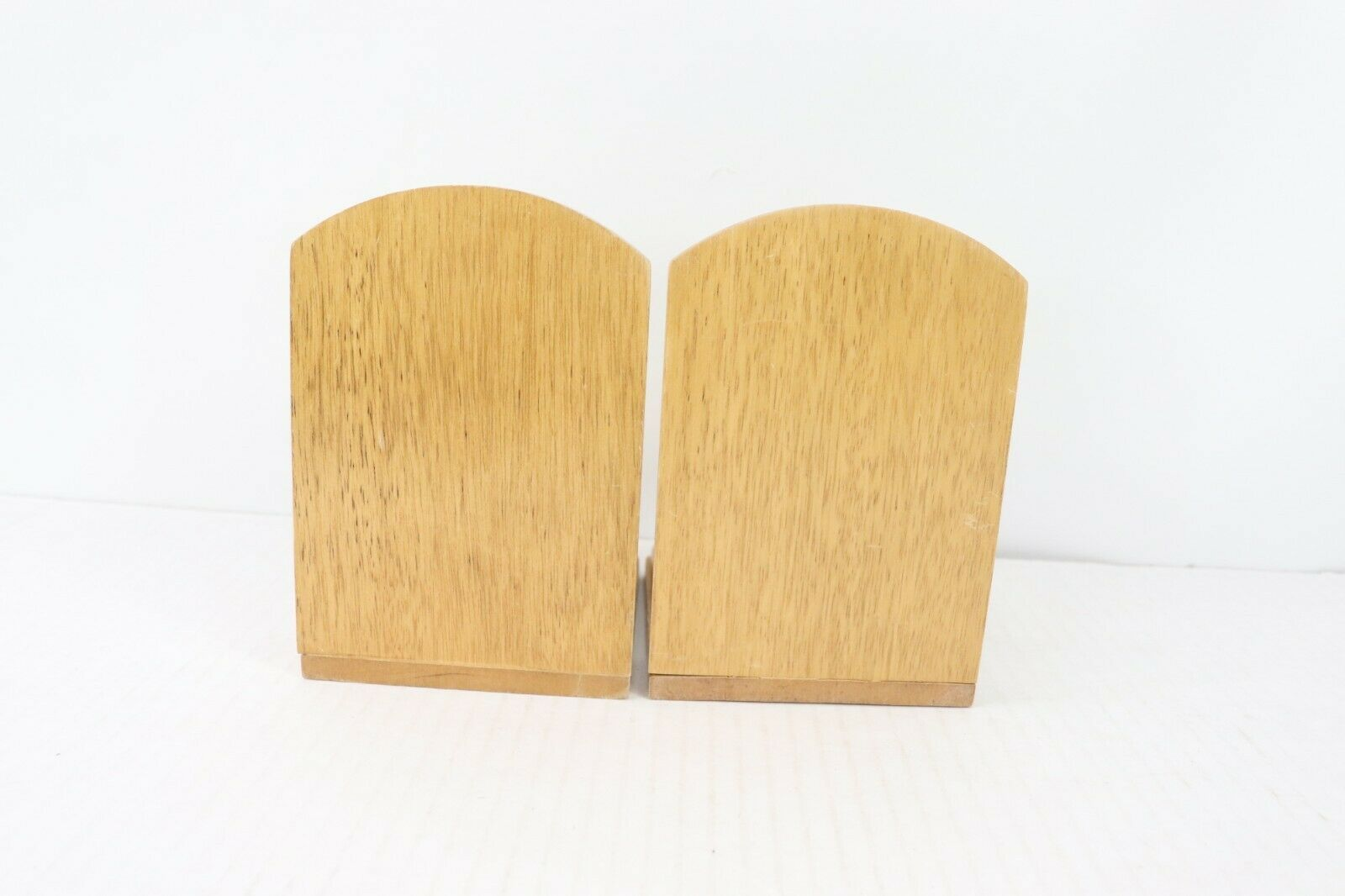 Vintage 60s Mid Century Modern MCM Brass Wood Quail Bird Bookends Book Ends