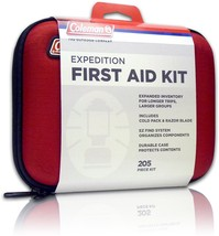 Professional First Aid Kit Complete Mixed 205PCS Travel Camping Boating ... - $39.82