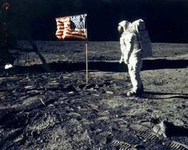 Buzz Aldrin O3D Vintage 8X10 Color Historical Memorabilia Photo - $6.99