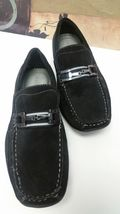 Loafers Black Size Leather Mens Shoe Suede Dexter EUC Slipon Mocs 10M a7g0Fnxq