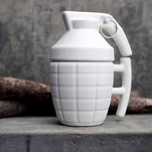 Novelty Creative Hand Grenade Ceramic Coffee Mugs Handgrip - $40.95