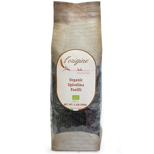 Organic Fusilli with Spirulina Algae by L'Origine (1.1 pound)