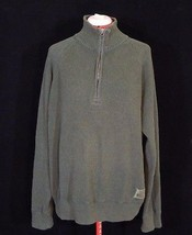 Ralph Lauren Polo Jeans Xxl Rib Military Patch 1/2 Zipper Pullover - $20.76