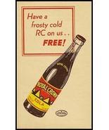 Vintage coupon ROYAL CROWN COLA pyramid bottle pic Nehi Stamps Arkansas ... - $8.99