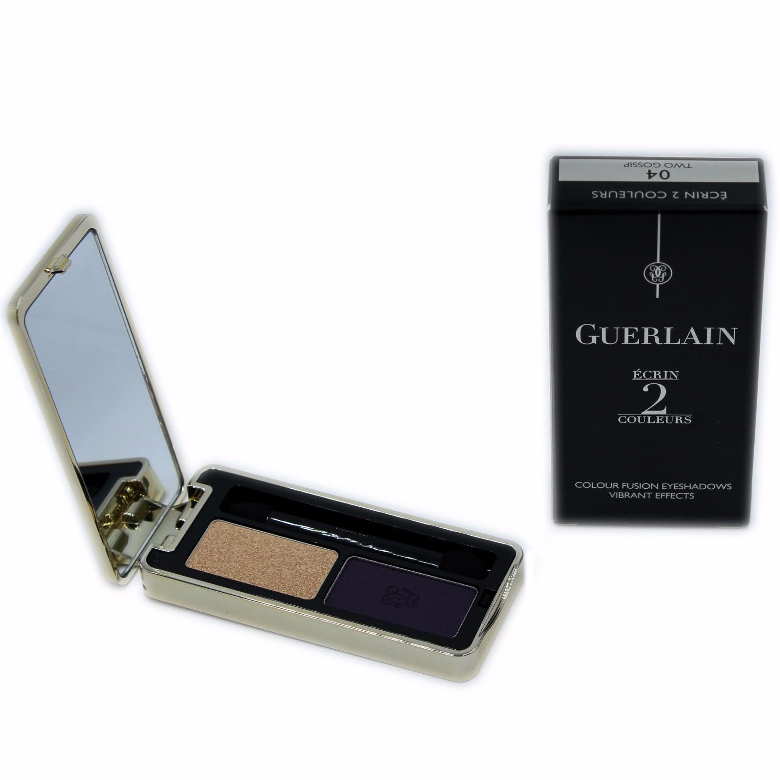 Primary image for GUERLAIN ECRIN 2 COULEURS COLOUR FUSION EYESHADOWS EFFETS VIBRANTS 4G #04-G4138