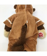 """Build a Bear Workshop Brown Monkey 18"""" Plush  with Gingerbread Man Outfit - $18.69"""