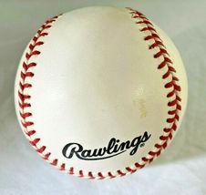 YOGI BERRA / MLB HALL OF FAME / AUTOGRAPHED OFFICIAL N.L. BASEBALL / JSA COA image 3