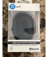 ONN Water Resistant Portable Bluetooth Speaker - Black ONA18AA019 - $9.89