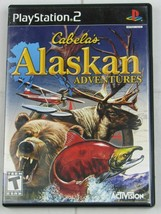 Cabela's Alaskan Adventures (Sony PlayStation 2, 2006) PS2 - G230 - $4.74