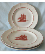 Wedgwood Georgetown Collection Flying Cloud Dinner Plate, Set of 3 - $75.13