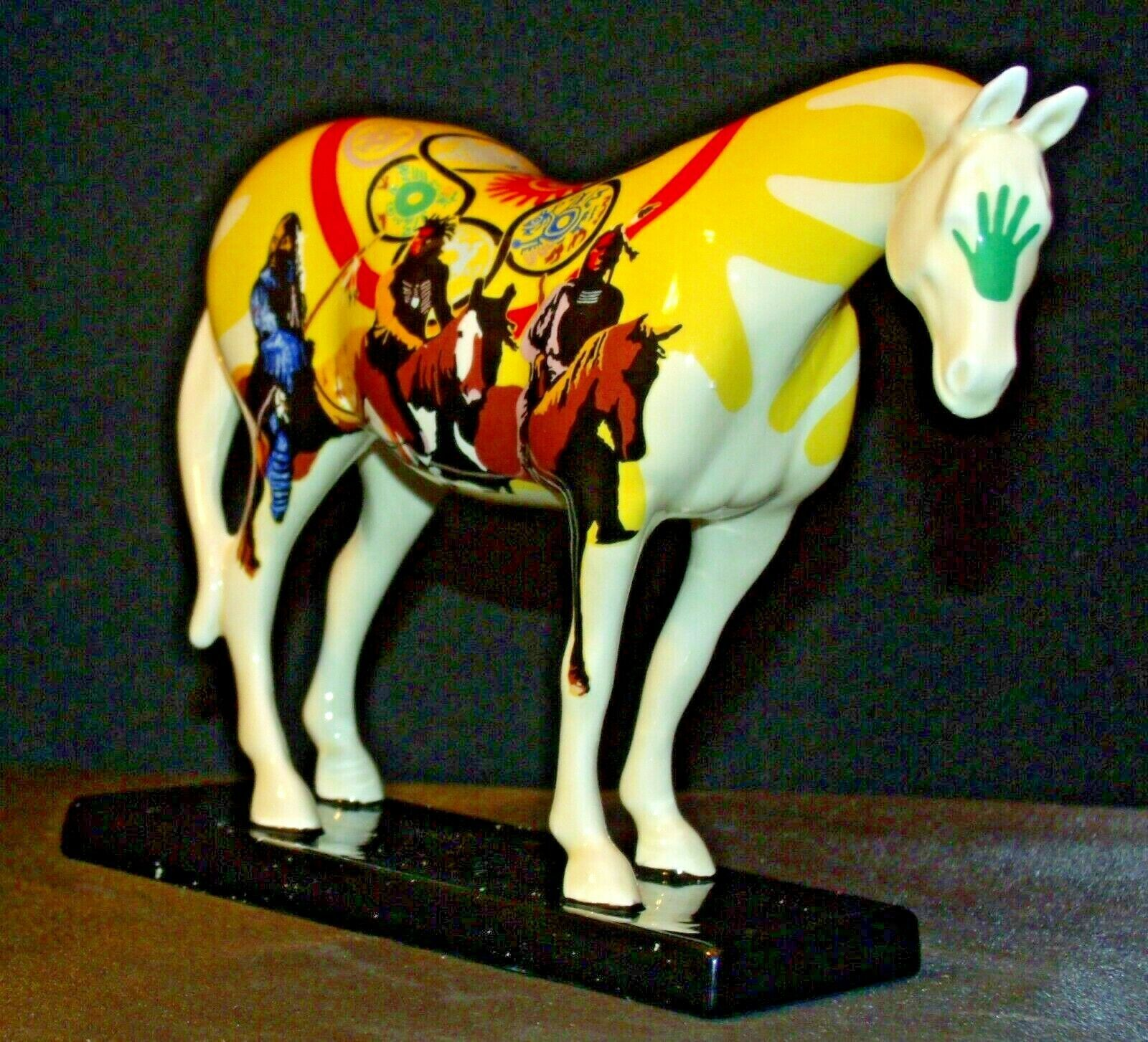 Ceramic Trail Of Painted Ponies #1468 Unity Westland Giftware AA-191996Collec