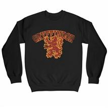 Harry Potter Distressed Gryffindor Lion Children's Unisex Black Sweatshirt - $25.07