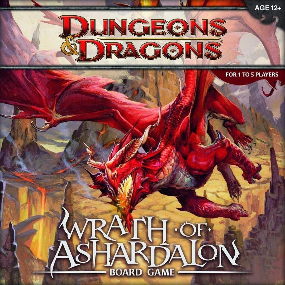 Wizards of the coast dungeons and dragons   wrath of ashardalon