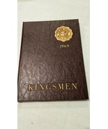 1969 THE KINGSMEN YEARBOOK THE KING SCHOOL STAMFORD, CONNECTICUT  - $24.75