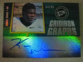 Kendall Wright 2012 Press Pass Gridiron Graphs Autograph #64/99 Tennessee Titans - $4.80