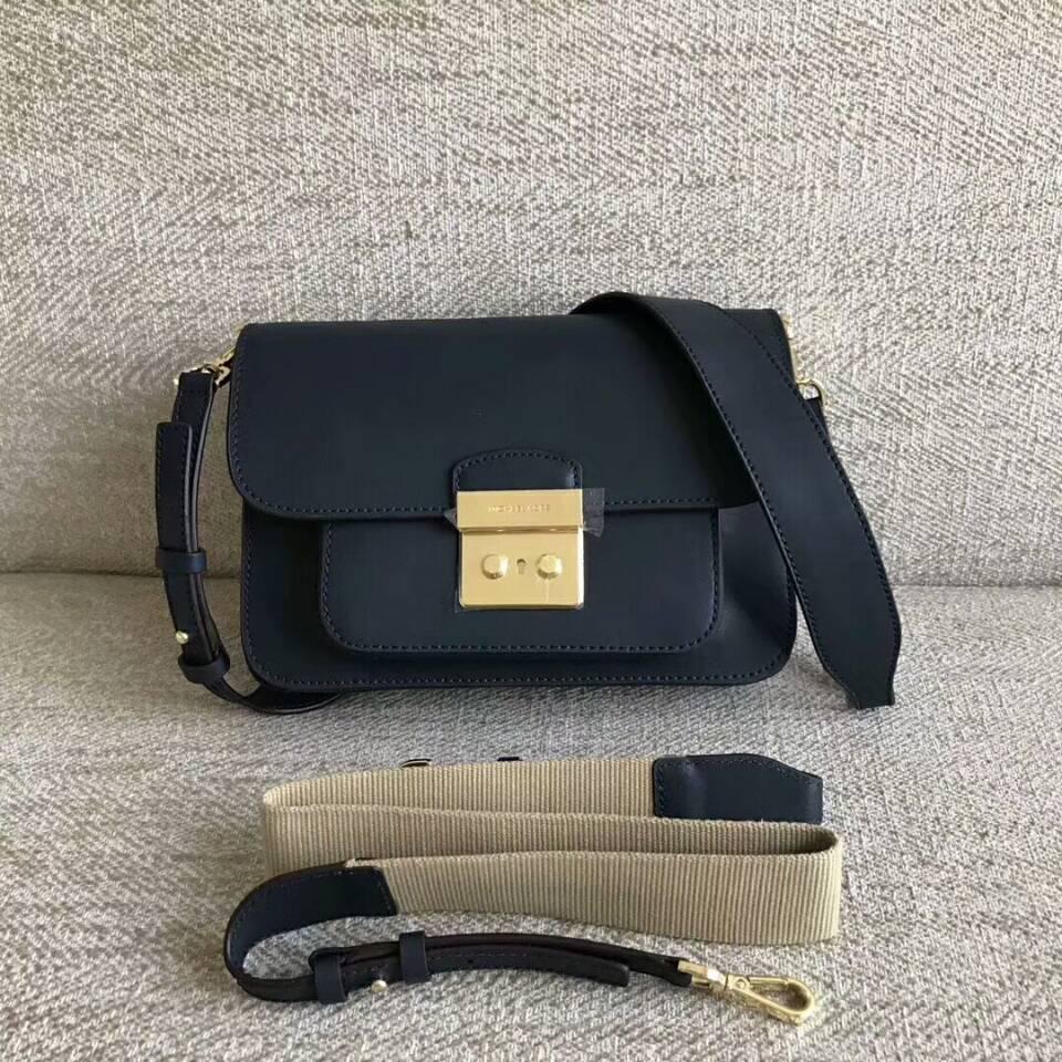 cc997358179b Qq 20180622214345. Qq 20180622214345. Previous. MICHAEL KORS Sloan Editor  Leather Shoulder Bag Light Navy Blue Authentic
