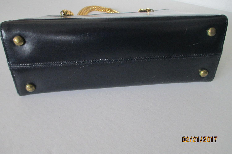 Vintage Coblentz original 1950's black handbag