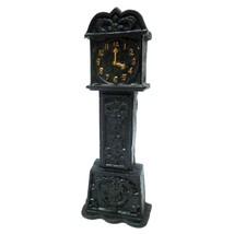 Time is Money Grandfather Clock Cast Iron Still Coin Bank Collectible De... - $29.69