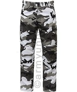 City Camouflage Military BDU Cargo Bottoms Fatigue Trouser Camo Pants - $27.99 - $33.99