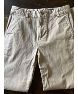 Vineyard Vines Khaki Casual Adjustable Waist Straight Leg Pants Boys Siz... - $19.70