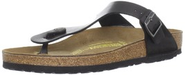 Birkenstock Women's GIzeh Thong Sandal, Licorice, 36 M EU/5-5.5 B(M) US - $115.70