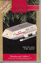 Shuttlecraft Galileo - Starship Enterprise - Star Trek - Hallmark Keepsa... - $7.60