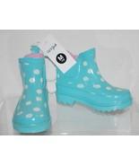 Toddler Girls' Tiffany Polka Dot Rain Boots Cat & Jack  - Mint M (7/8) - $9.99