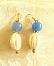 Vintage Lucite Dangle Earrings - $6.00