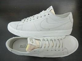 Nike Mens SB Zoom Blazer Low Decon Leather Light Bone Skate Shoes Size 1... - $69.29