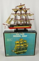 Vintage Old Time Model Ship. Flying Cloud Price Products. Wood Hull Canv... - $44.50