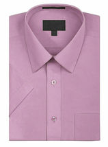 New Open Box Repackaged Men's Short Sleeve Dress Shirts Multiple Colors image 7