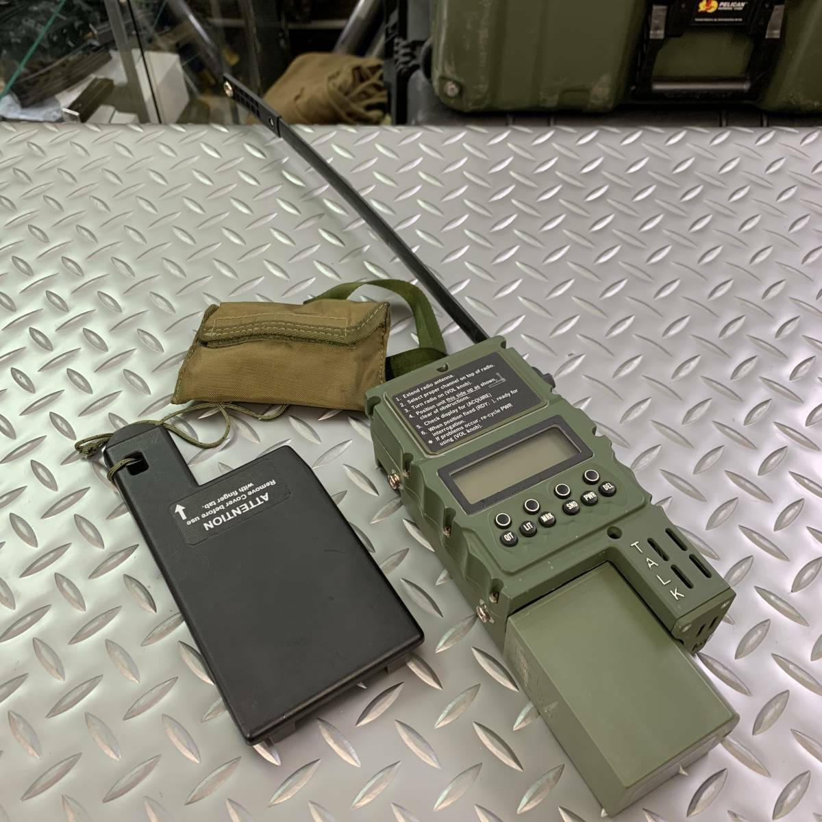 Primary image for US military AN PRC-112G CSAR MilitaryTransceiver Survival Radio