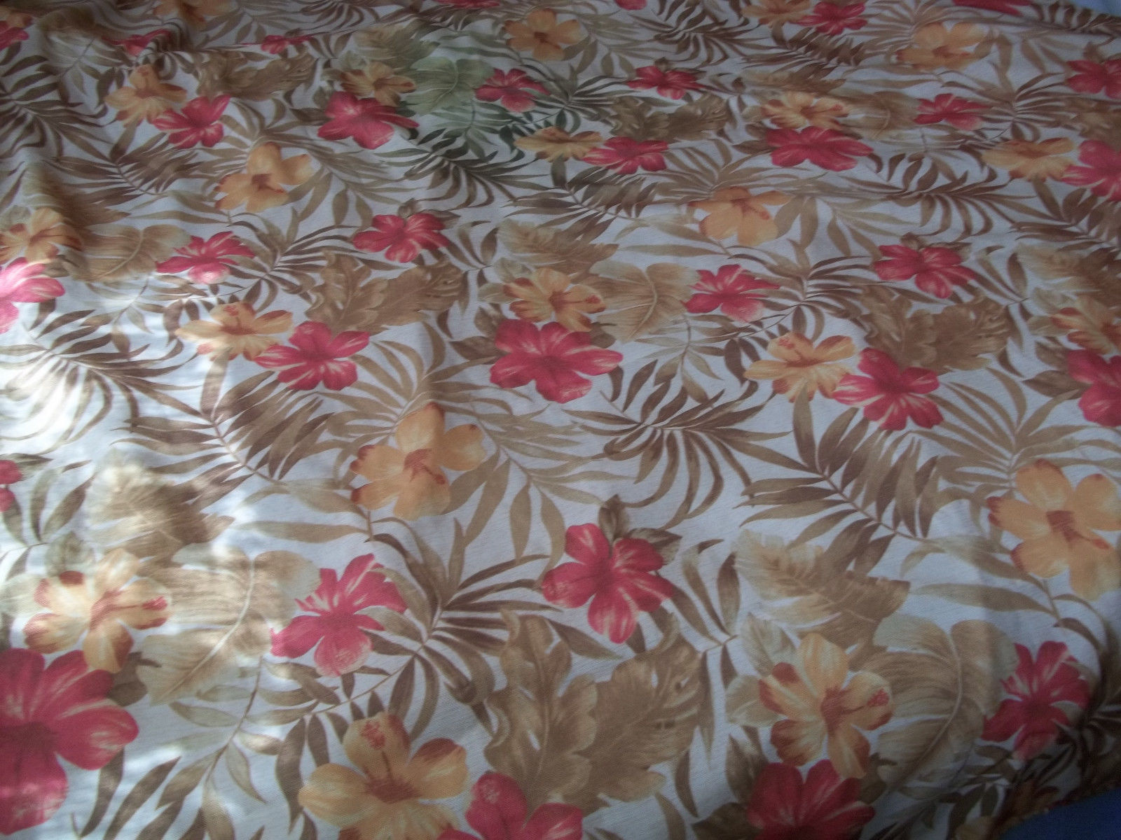"Tablecloth  Warm Colors 54"" x 80""  Print image 2"