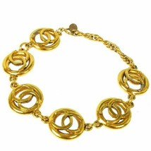 Chanel chain bracelet gold V22430 - $447.59