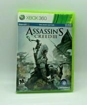 Xbox 360 Assasins Creed 3 Walmart Edition Ubisoft Complete w/ Manual - $14.98