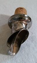 Vintage Silver Plated Pourer Spout by Mema EPS Sweden, Liquor, Oil, Vinegar - $8.99