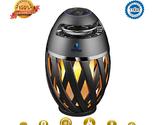 Flame Light Speaker, Viiwuu Led Flame Speakers Torch Atmosphere Bluetooth Speake - $24.95