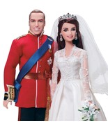 Barbie Collector Royalty Prince William and Kate Doll Gift Set  - $578.05