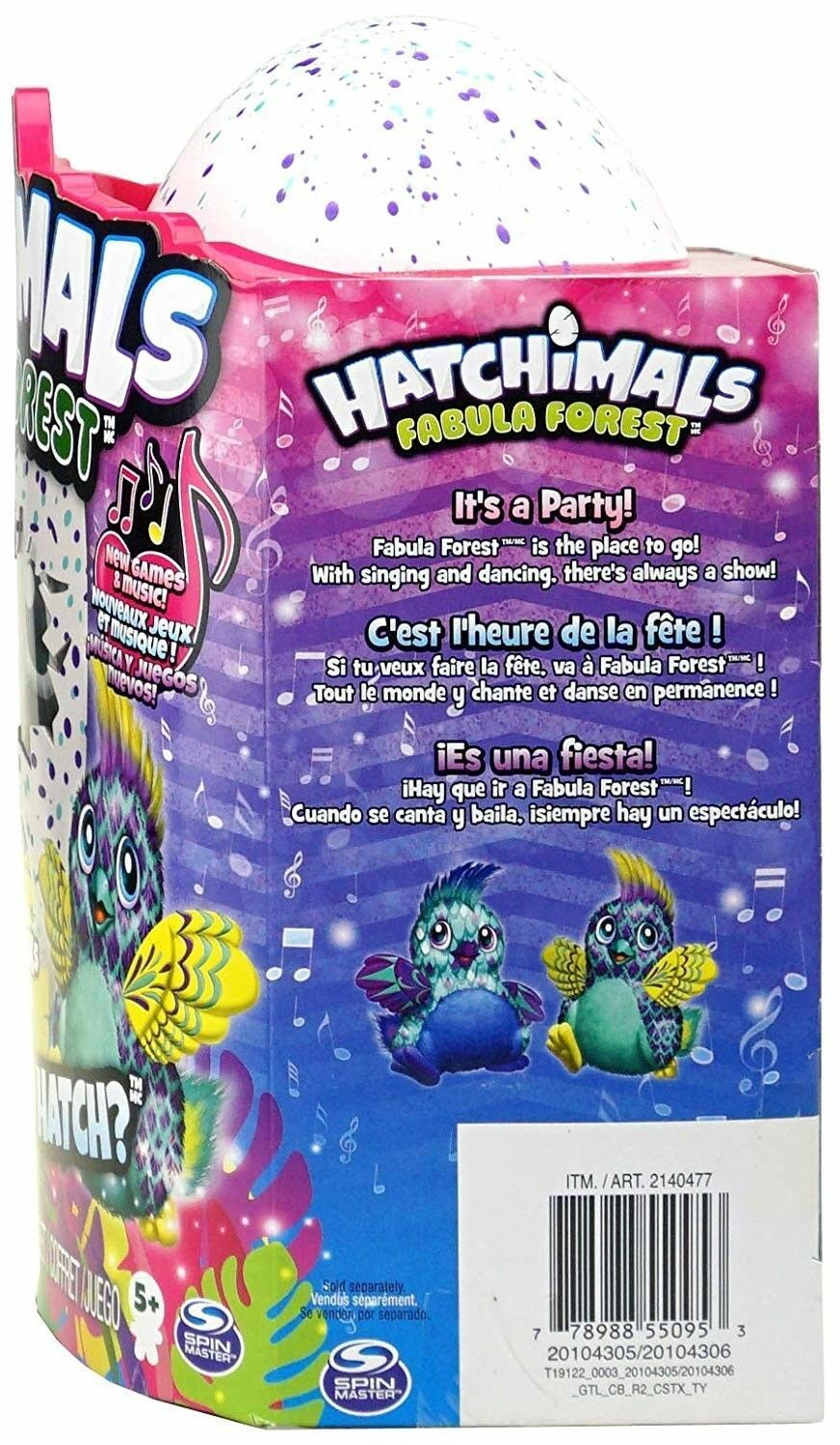 Hatchimals Colleggtibles Fabula Forest Set 1 Large and 2 Colleggtibles
