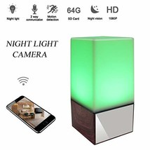 Seahon 1080P Night Light Hidden Spy Lamp Camera WiFi Baby Monitor HD Nan... - $85.20