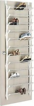 Back Door Shoe 36 Pairs Footwear Rack Folding Bar Holder Organizer Room NEW - £32.25 GBP