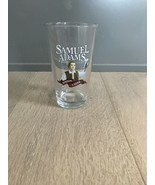 SAMUEL ADAMS BREWER PATRIOT BOSTON LAGER 16 Oz BEER GLASS ALE PINT MICRO... - $12.00