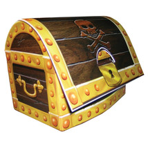 Paper Centerpiece 3D Buried Treasure Chest/Case of 6 - $38.00
