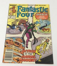 Fantastic Four Volume 1 #306 Marvel Comic Book SEP 1987 Diablo and Eleme... - $12.14