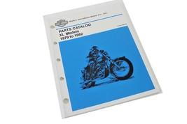 PARTS MANUAL FOR HARLEY DAVIDSON SPORTSTER XL MODELS 1979-1982 - $49.48