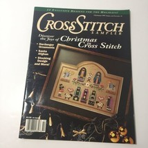 Cross Stitch Sampler Magazine Christmas 1991 Santa Afghan Stocking Nativity - $9.74