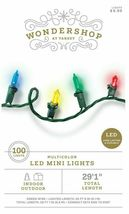 "Lot 2 100ct LED Mini String Lights Multicolored Red Yellow Blue Green Wire 29'1"" image 3"